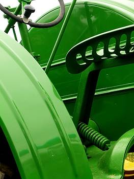 Green Tractor by Michael Allen