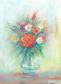 Green Vase by Jovica Kostic