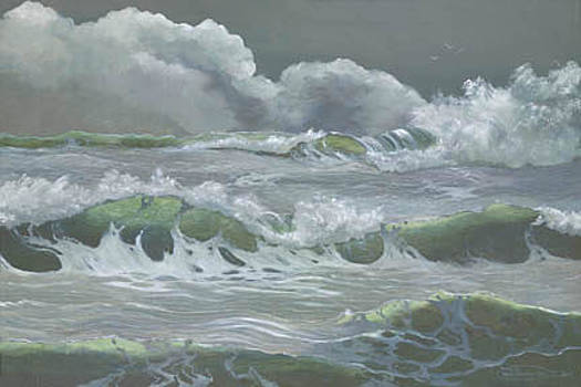 Green Water by Carol Thompson