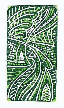 Green White Green by Jennifer Harper