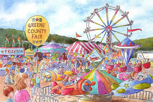 Greene County Fair by Leslie Fehling