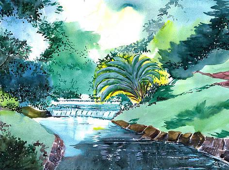Greens 1 by Anil Nene