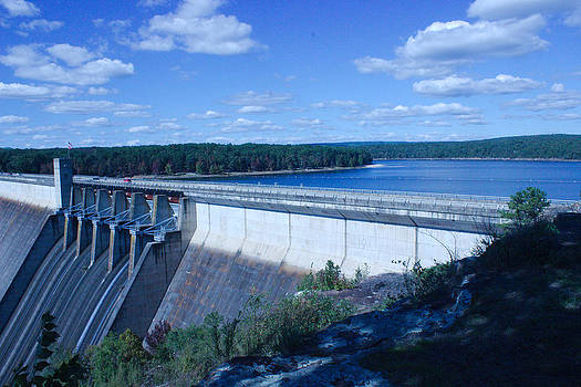 Greers Ferry Dam by Edward Hamilton
