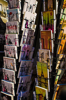 Greeting cards in Paris by Dany Lison