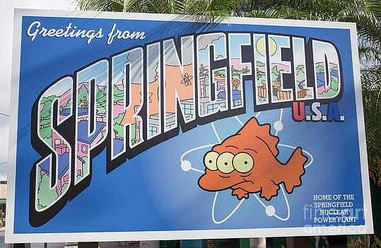 Edward Fielding - Greeting from Springfield USA