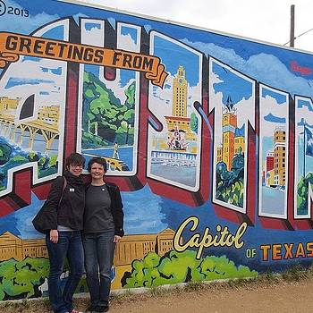 Greetings From Austin! I Live Here by Gia Marie Houck