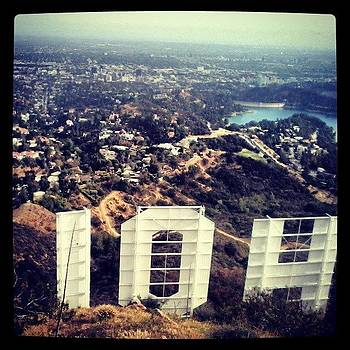 Greetings From Behind The #hollywood by Christy Borgman