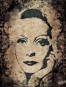 Greta Garbo  by Bitta -  Silvia Mariottini
