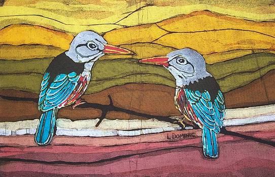 Grey headed Kingfisher by Lukandwa Dominic