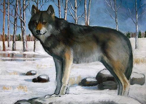 Joyce Geleynse - Grey Wolf In Winter