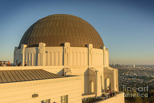 Griffifth Observatory Dome by Clear Sky Images