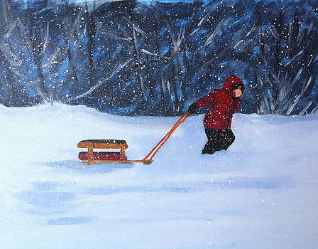Griffin's Sled by Jane Croteau