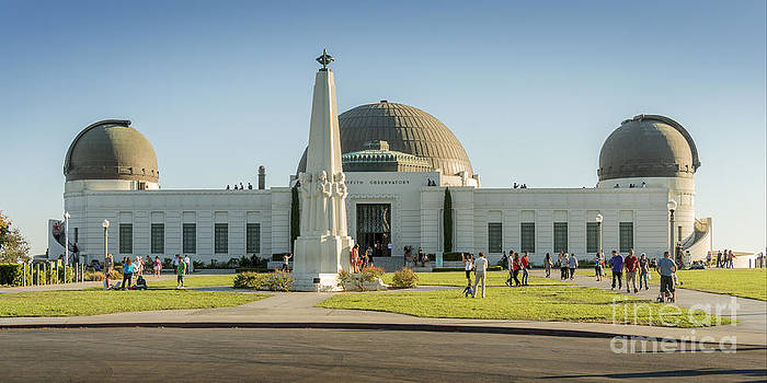 Griffith Observatory by Clear Sky Images