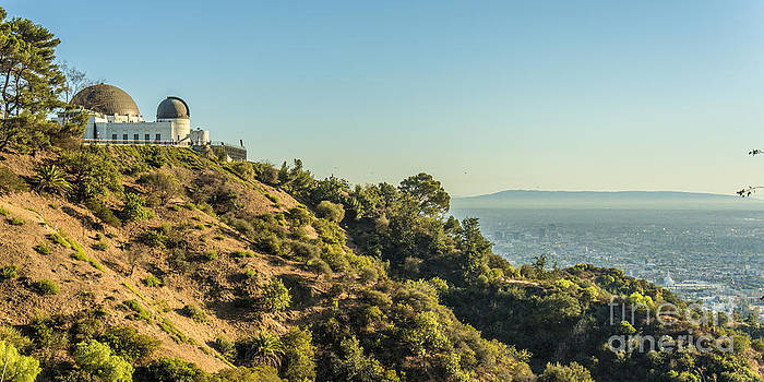 Griffith Park and Ocean by Clear Sky Images