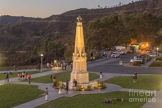 Griffith Park Statue by Clear Sky Images