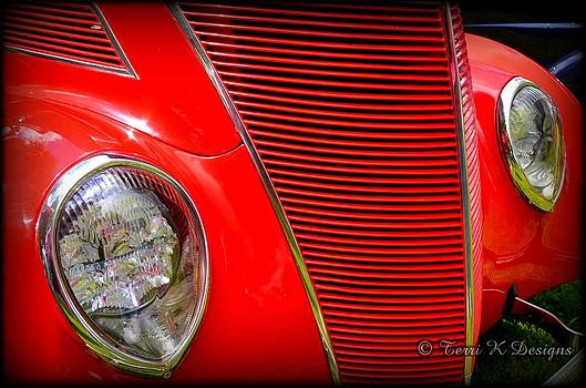 Grill it red by Terri K Designs