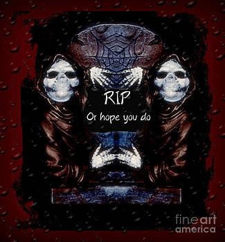 Eva Thomas - Grim Reaper Decoration
