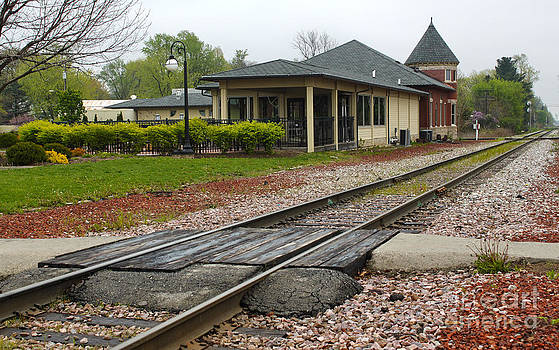 Gregory Dyer - Grinnell Iowa - Train Depot