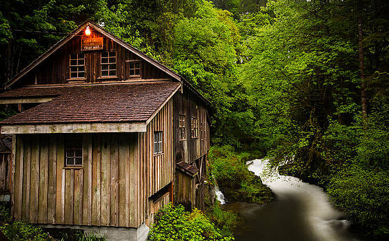 Grist Mill by Anthony J Wright
