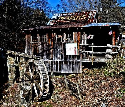 Grist Mill at the Peanut Shack by Tara Potts