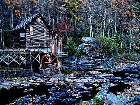 Matthew Winn - Grist Mill in Autumn