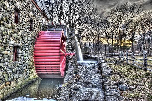 Grist Mill Sudbury by Adam Green