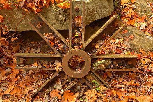 Adam Jewell - Grist Mill Wheel