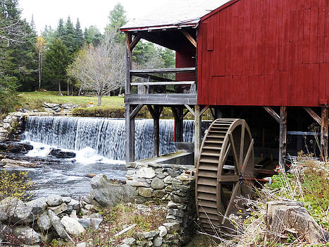 Gristmill Weston Vermont by Jim  Wallace