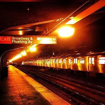 Gritty. #nyc #newyork #subway #train by J Amadei