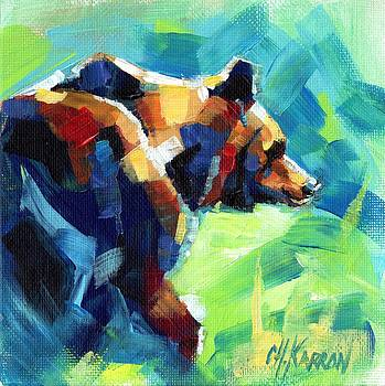 Grizzly Walk by Christine Karron