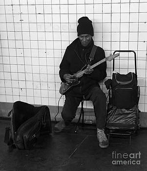 Grooving out in the tube by Parker O'Donnell