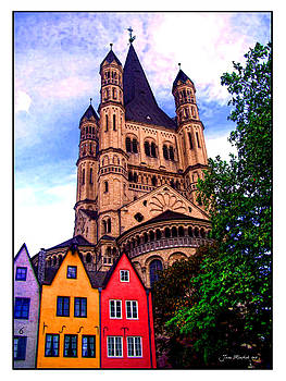 Joan  Minchak - Gross St. Martin in Cologne Germany