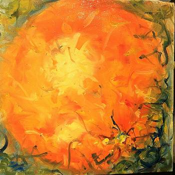 Grounded Orange by Karen Carmean