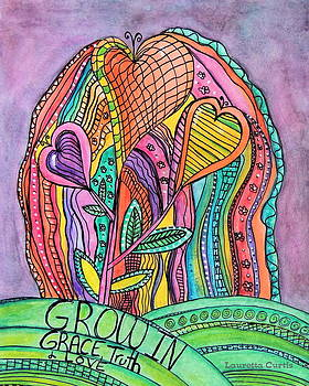 Grow In Grace by Lauretta Curtis