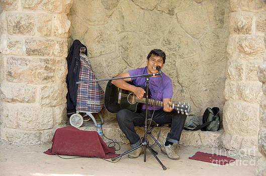 Gruell Guitarist by Jay Ressler