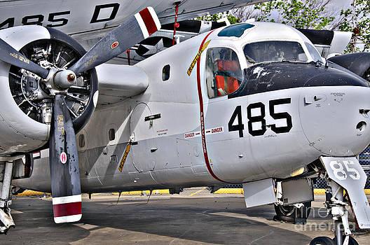Grumman S2F-1 Tracker by Charles Dobbs