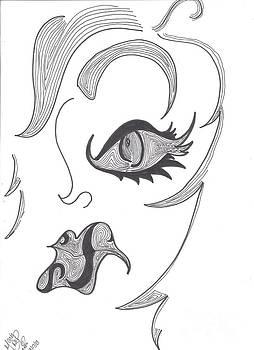 Grumpy Brow by Marie De Garo