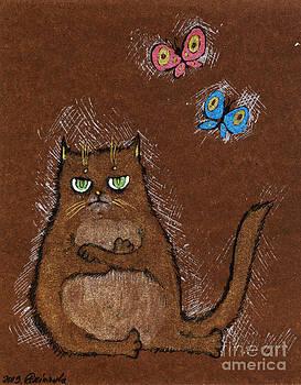Angel  Tarantella - grumpy cat