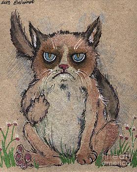 Angel  Tarantella - Grumpy cat says hello to you