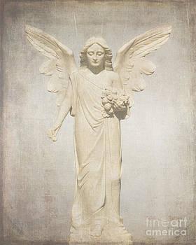 Grunge Rosey Angel by Josephine Cohn