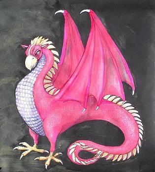 Gryphon dragon by Maria Elena Gonzalez