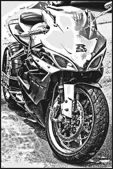 Joe Bledsoe - GSXR Black and White