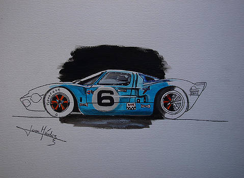 GT40 Project by Juan Mendez