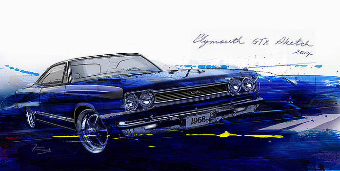 GTX Art by Fred Otene