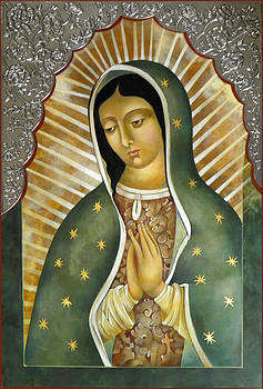 Guadalupe  patron saint of the Americas. by Mary Jane Miller