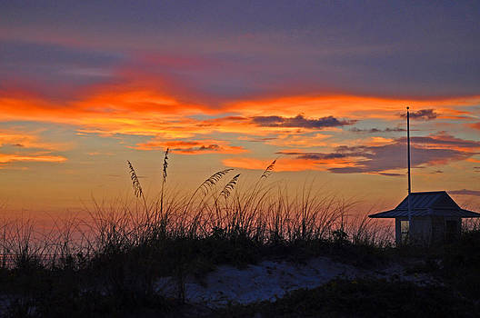 Guardhouse at Sunset by Peter  McIntosh