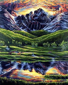 Guardian of Longs Peak by Lori Salisbury