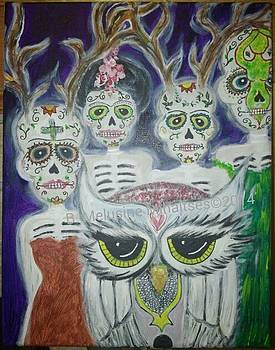 Guardians of our Transformations by B Melusine Mihaltses