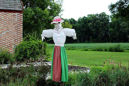 Guarding the Garden by Carolyn Ricks