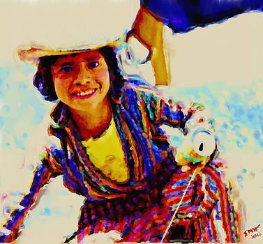 Guatemala Fisher Boy Smiling by Elizabeth Iglesias
